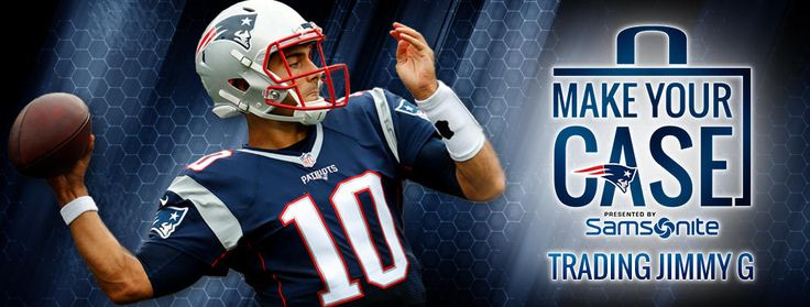 Jimmy Garoppolo has been the subject of trade rumors for months, but will the Patriots deal him? Should they?