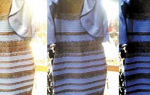 Sabes este es el origen del misterioso vestido blanco y dorado