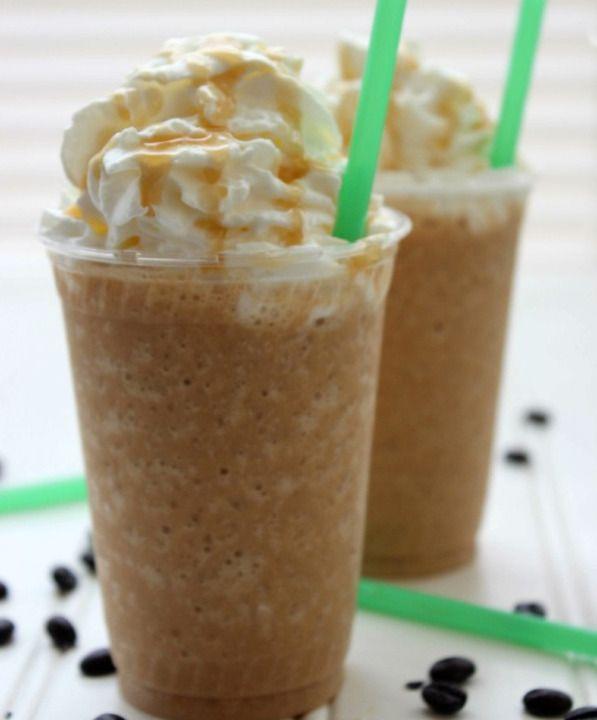 Vous recherchez une recette qui reproduirait le goût unique des frappuccino au caramel de StarBucks? C'est la bonne, un vrai délice rafraîchissant!