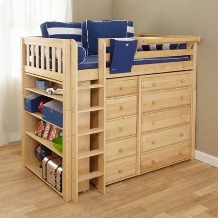 Best Diy Loft Bed With Storage Kids Bedroom Ideas 400 x 300