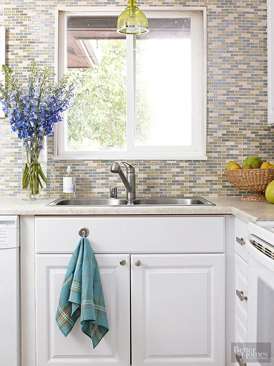 102 Best Images About My Kitchen Reconstruction On Pinterest Countertops Blue Tiles And Small