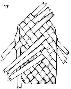 Плетем лапти из газетных трубочек (6) (244x304, 46Kb)