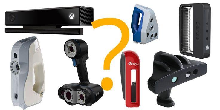 En esta guía del escáner 3d portátil vas a encontrar las especificaciones y precios de los diferentes escáneres de mano del mercado..¡No te la pierdas!