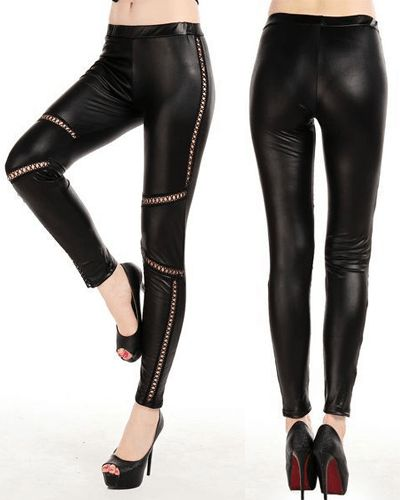 Criss Cross Skinnleggings Leggings