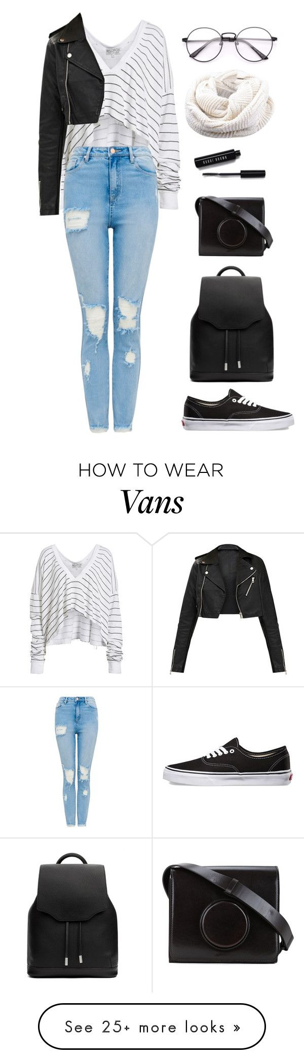 """""""Cosette"""" by mariposa-fashion-21 on Polyvore featuring Wildfox, Vans, Bobbi Brown Cosmetics, Lemaire and rag & bone"""