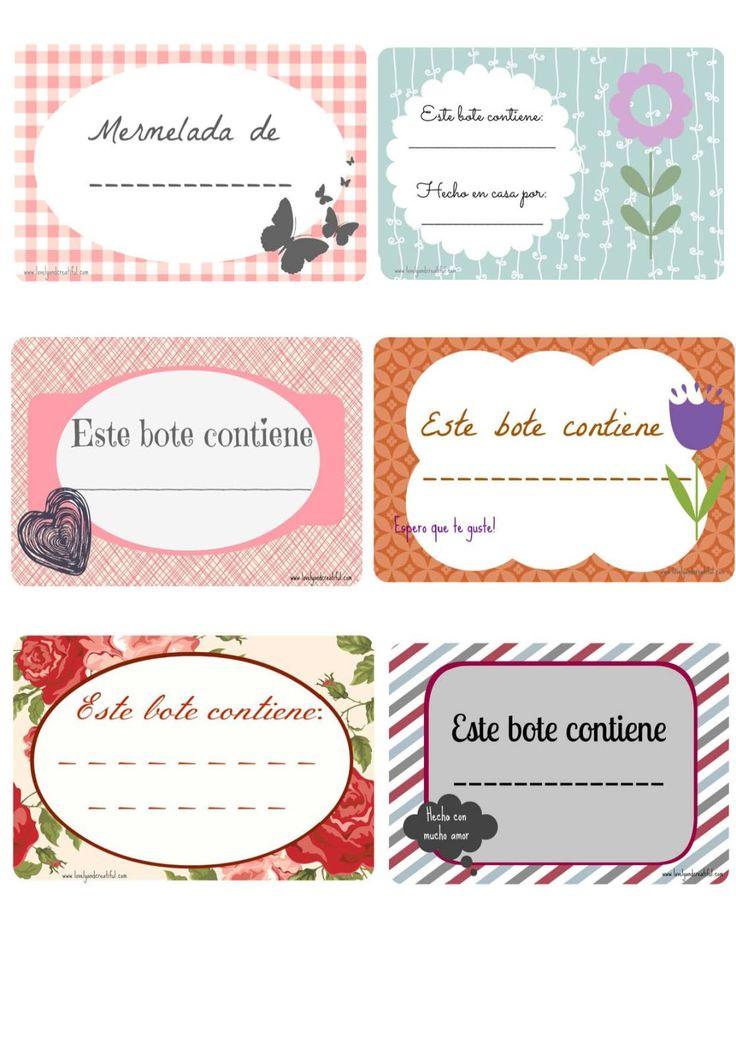 Para imprimir etiquetas para cocina - Imagenes de cocinas para imprimir ...