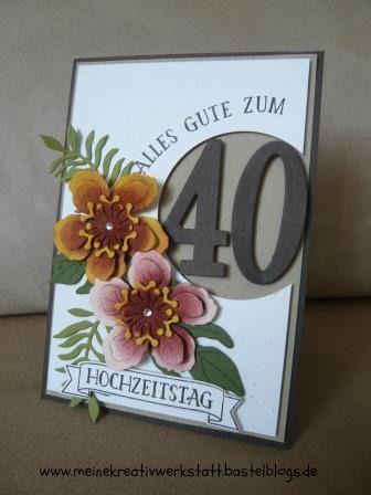 Botanical Blooms, So viele Jahre, Stampin up, www.meinekreativwerkstatt.bastelblogs.de, Jubiläum, Hochzeitstag