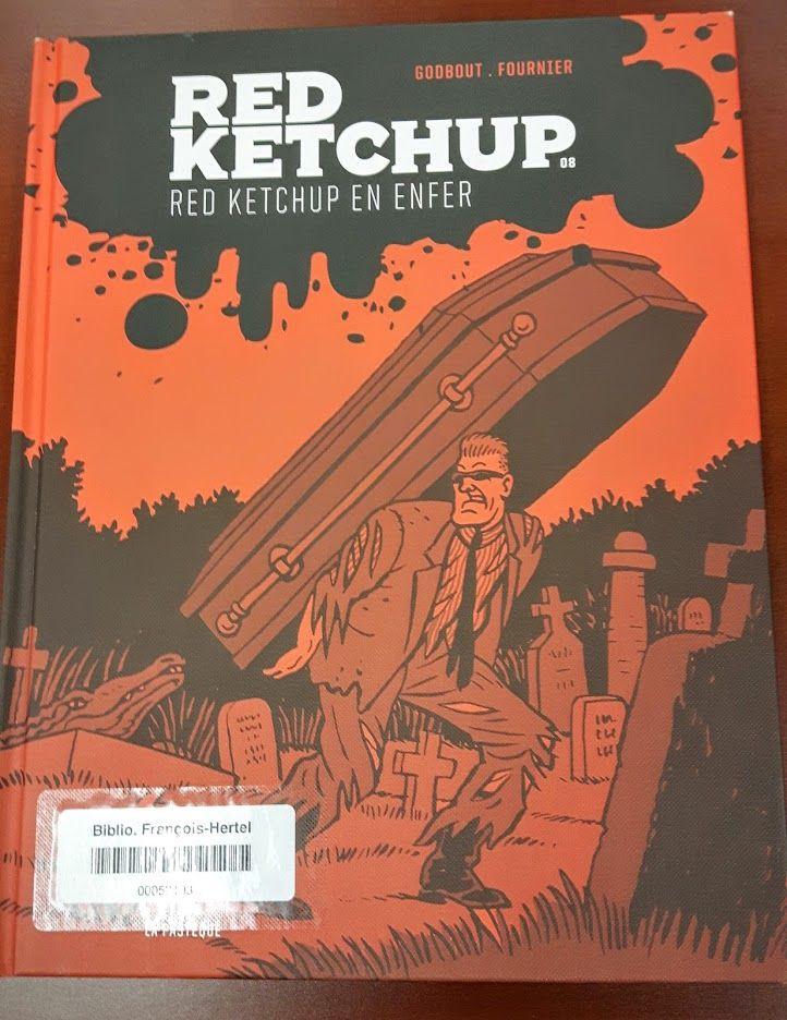 Red Ketchup en enfer (BD REDK Red v.8)