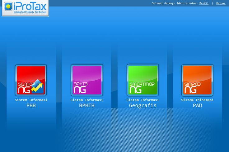 Layout GUI for iProTax software
