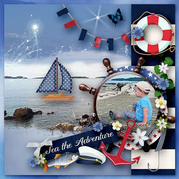 * Sea the Adventure* by Dafinia Design  http://digital-crea.fr/shop/index.php…