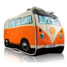 Oranssi VW Kleinbus toilettilaukku. Tuntuu olevan loppuunmyyty, mutta jos löytyy niin riemuiten otan vastaan.