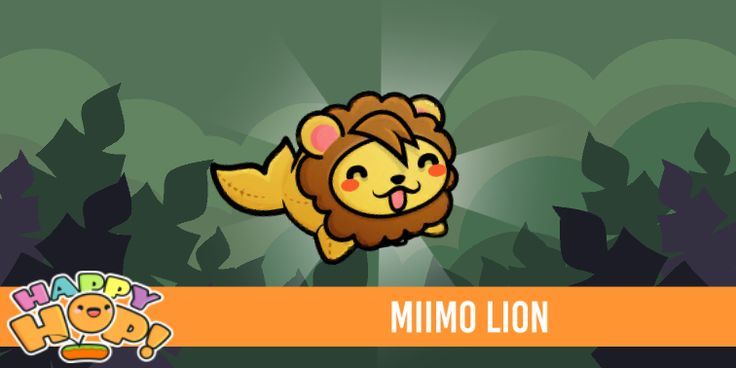I just unlocked Miimo Lion from #HappyHop! @PlatonicGames https://itunes.apple.com/app/id1087482860 | platonicgames.com