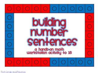 First Grade and FabulousGrade Math, Classroom Math, Numbers Sentence, Classroom Freebies, Buildings Numbers, Math Ideas, Common Cores, First Grade, 1St Grade