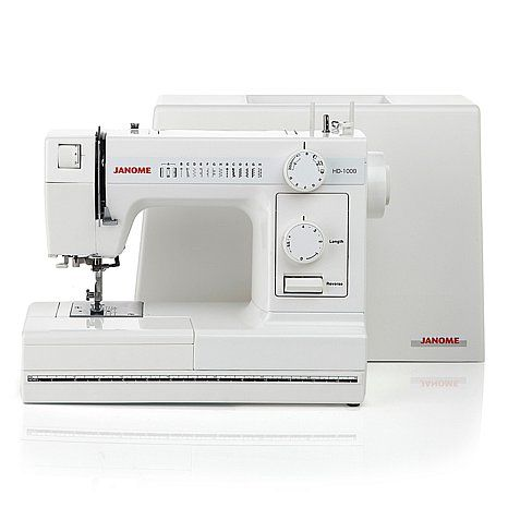 HSN $299 or 4 $75 flexpay--Janome HD1000 Heavy-Duty Sewing Machine