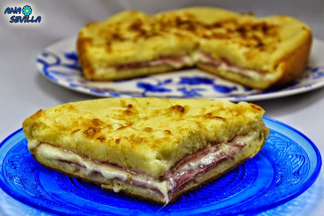 Coca de jamón y queso Ana Sevilla olla GM