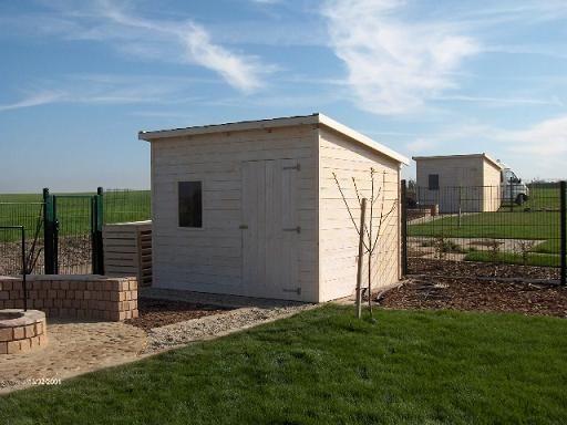 3 x 2 m-es félnyeregtetős faház ( Biatorbágy )