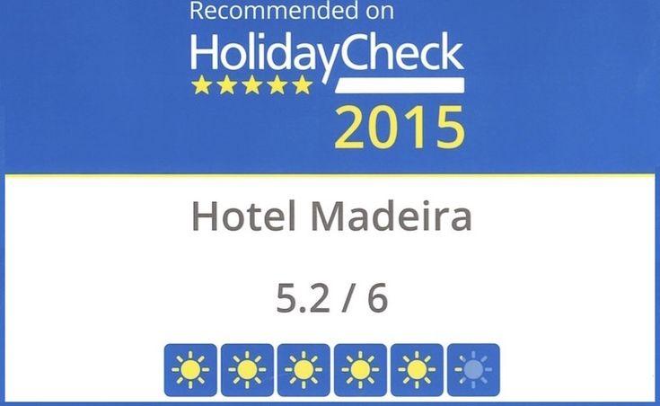 Acabamos de receber o certificado de 2015 pela HolidayCheck, o que torna os dias chuvosos mais alegres e cheios de sorrisos. #HotelMadeira #HolidayCheck #Madeira #Hotel #Funchal #Certificado #HolidayCheck2015 #Hotels