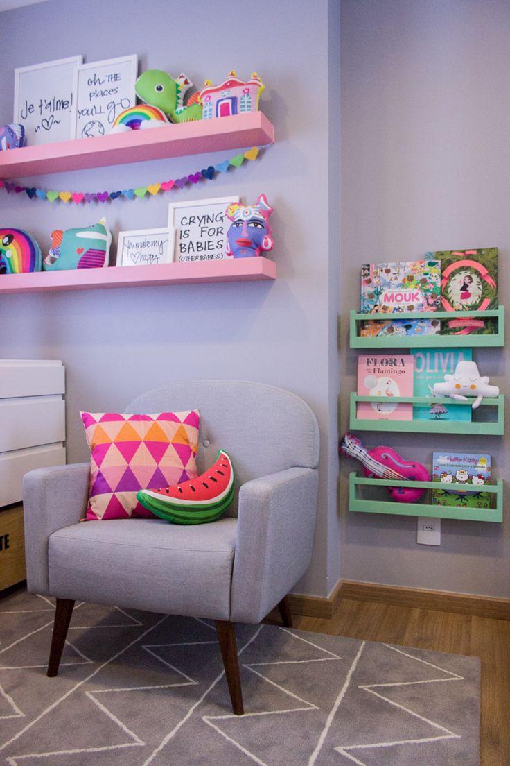 Projeto especial da arquiteta @thaisabohrer para o quarto da filhota Maria…                                                                                                                                                                                 Mais