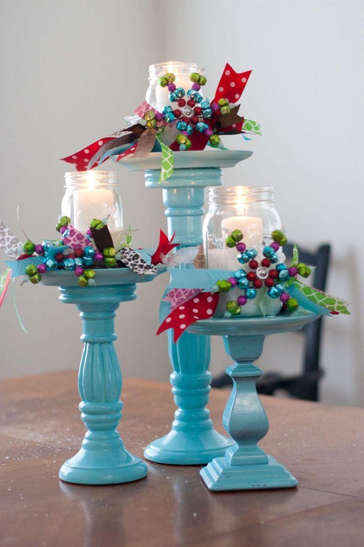 Christmas Decorating With Mason Jars