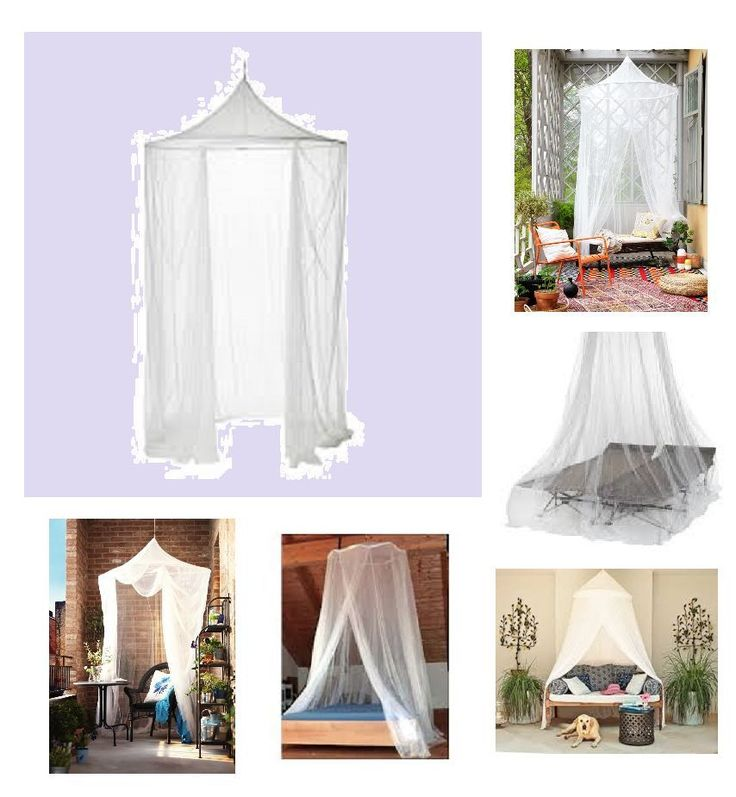 Ikea Solig Mosquito Netting Romantic Garden Camping Dining