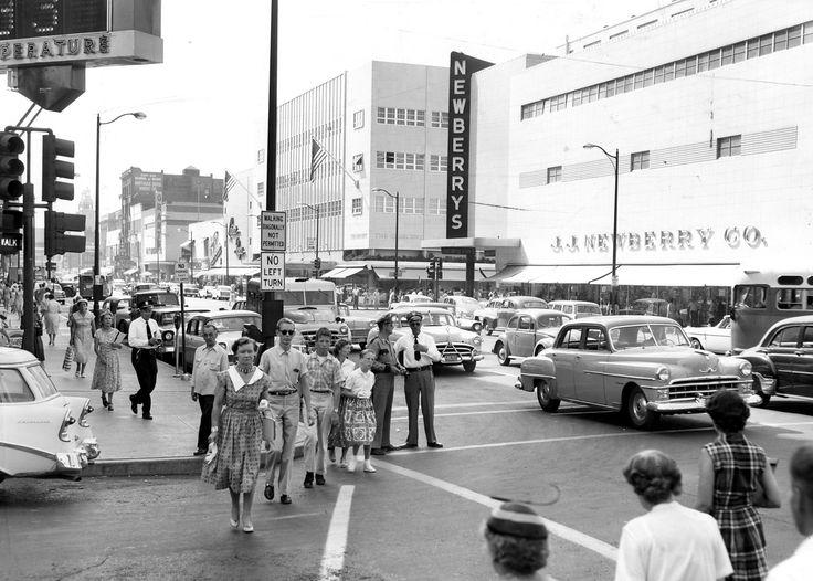 J J Newberry S Spokane 1958 Vintage Retail Pinterest