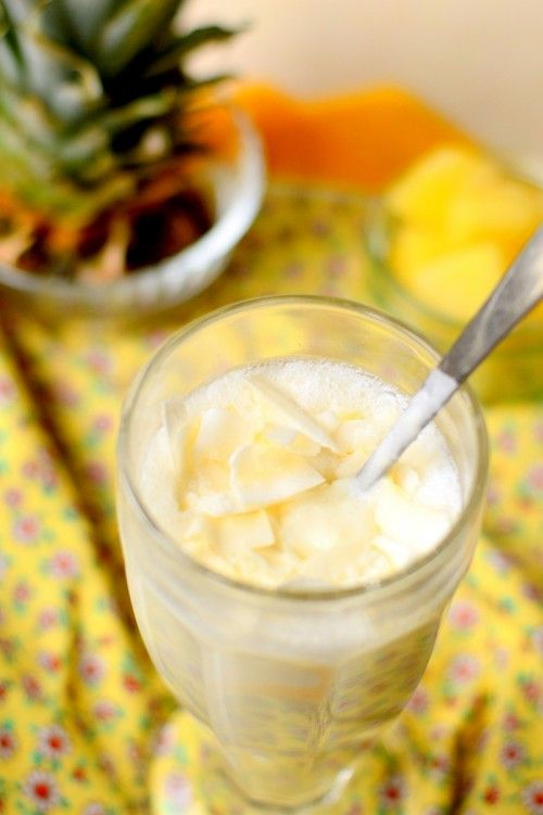 Piña colada reggeli ital