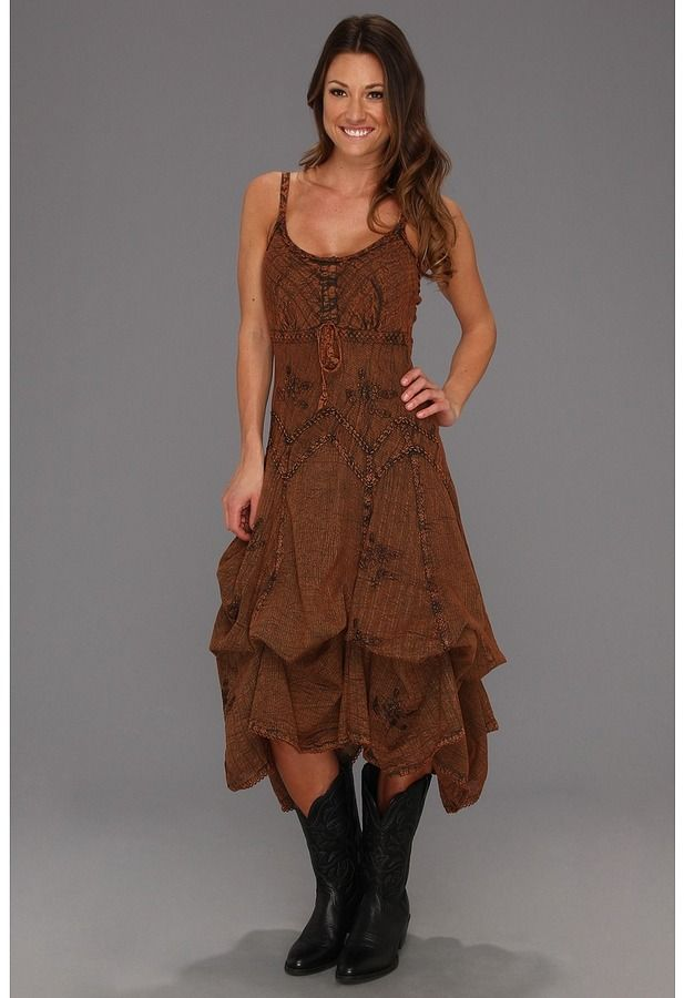 50 Best Dresses You Can Wear With Cowboy Boots Images On