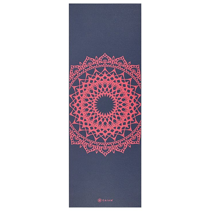 22usd Amazon.com : Gaiam Print Yoga Mat, Pink Marrakesh, 3/4mm : Sports & Outdoors