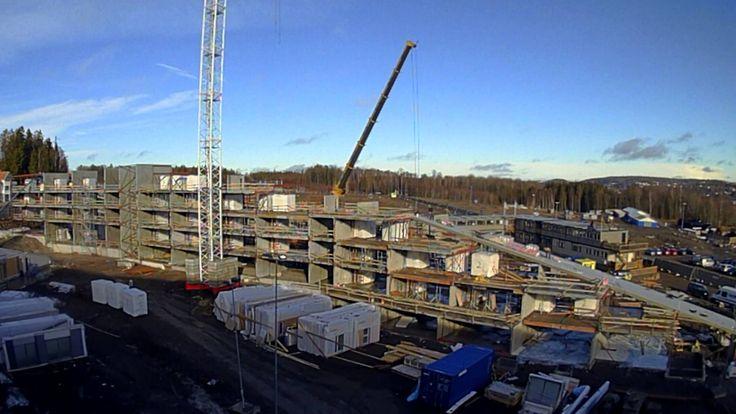 Legging av tak på hotellbygg V6, Oslofjord Convention Center