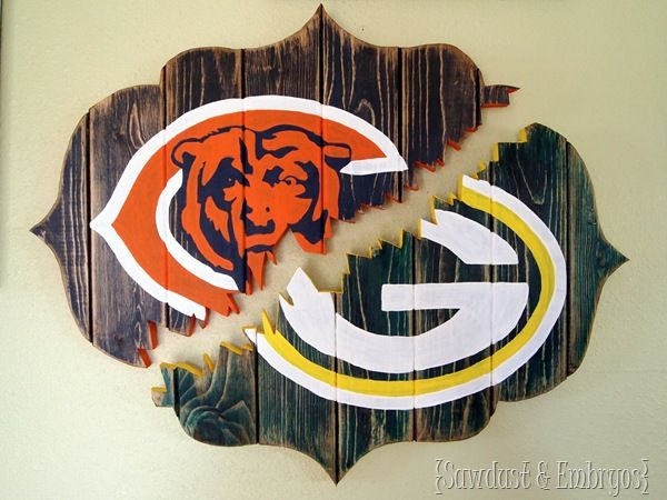 Broken 'House Divided' Wall Art - All Things Thrifty Home Accessories and Decor