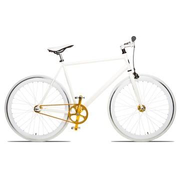 Single speed bike, on sale on Fab.com... loving that gold chain, so fabulous.