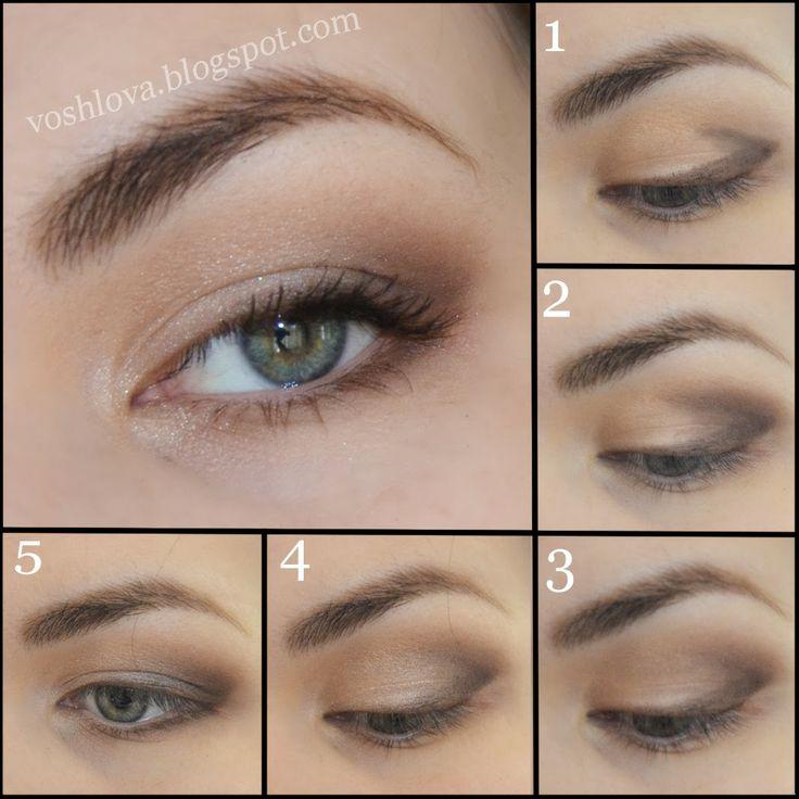 видео урок макияжа глаз смоки айс