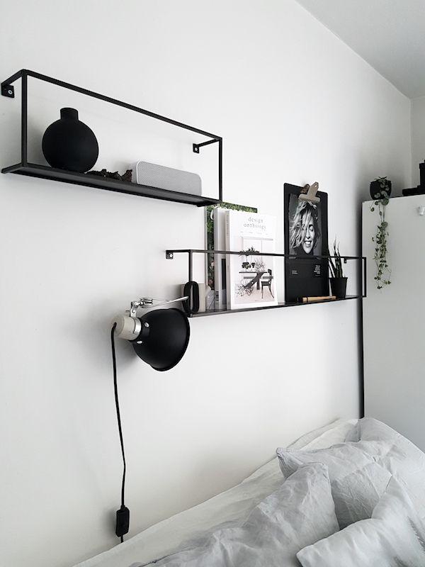 Die besten 25+ Regal über Bett Ideen auf Pinterest Dekoration - bett regal stauraum ablage