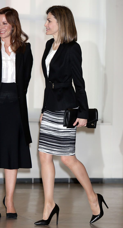 Queen Letizia attends V Forum Against Cancer 'Por un enfoque integral' on February 3, 2016 in Madrid, Spain.