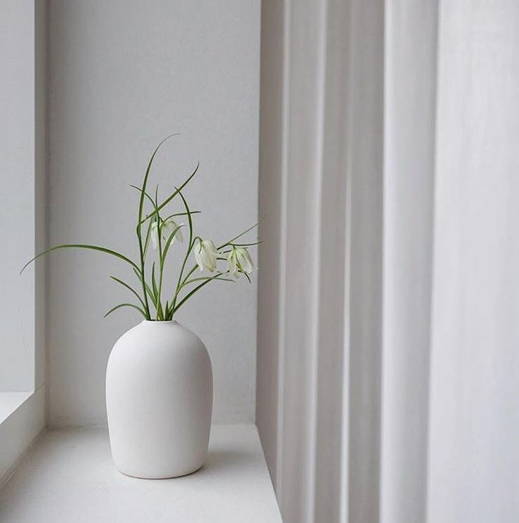 Raw Vase White from MALLING LIVINGin the home @everydayetcetera