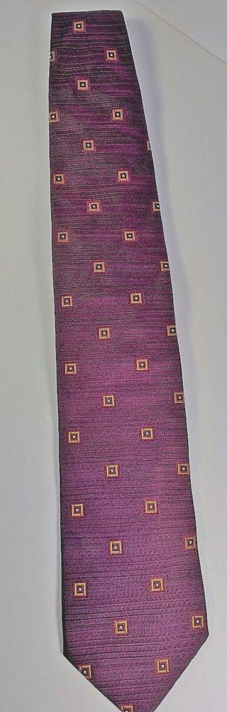 HUGO BOSS Men's Tie Burgundy 100% Silk Seide #HUGOBOSS #Tie