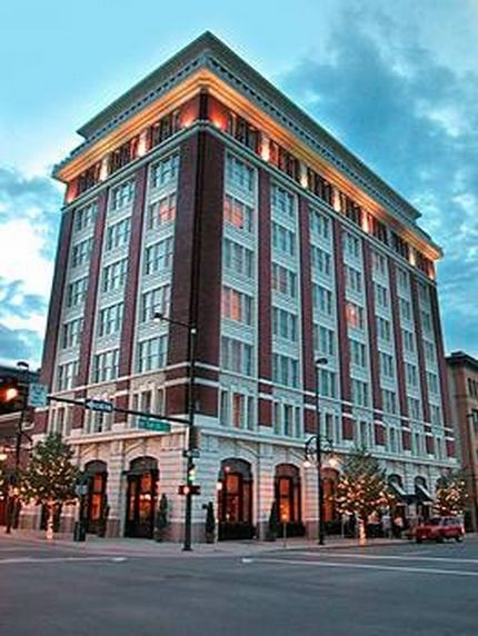 #25.Hotel Teatro @ 14th Ave and Arapahoe.  One of the best Denver hotels.