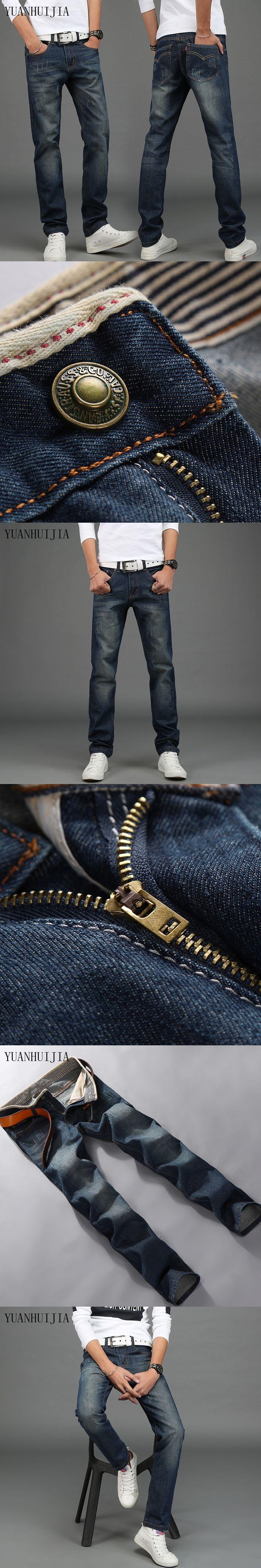 New arrival  American style famous brand men's jeans plus size 42 jeans men pantalones vaqueros hombre Calca Jeans for men / 087