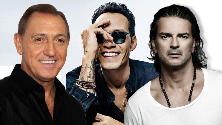 Marc Anthony, Ricardo Arjona, Franco De Vita EXITOS SUS MEJORES CANCIONE...