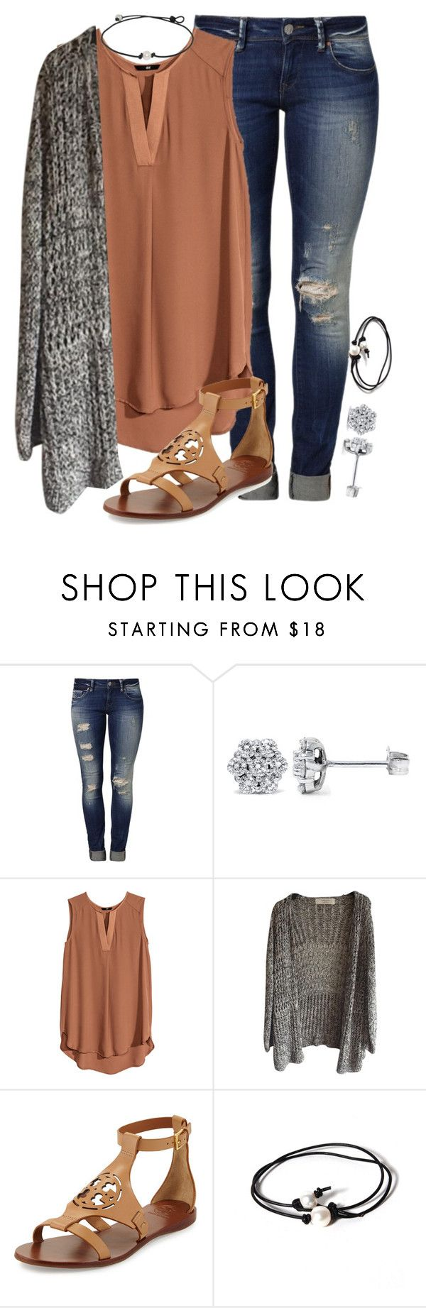 """AUDITION :)))"" by lydiamorrison ❤ liked on Polyvore featuring Mavi, H&M, Tory Burch and Joie"