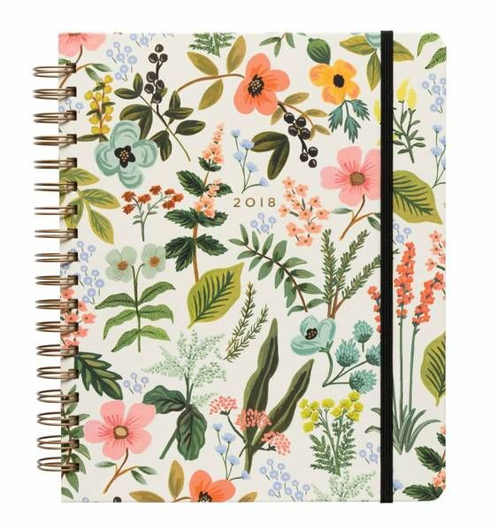 Shop Now! 50% off Rifle Paper Company | Herb Garden Spiral 17- Month Planner 2018