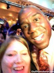 Meeting Earvin Magic Johnson at The NRA Show Keynote Address - ChefThymeSavor
