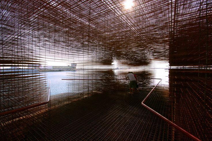 croatia's floating pavilion for venice architecture biennale