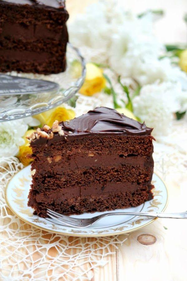 Sugar: Torta al doppio cioccolato e nocciole
