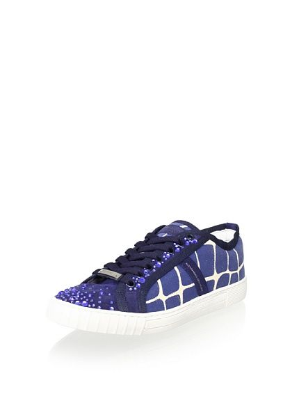 Alessandro Dell Acqua Rouge Women S Crystals Sneaker At