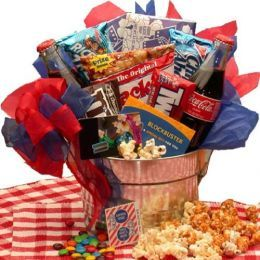 movie Date Night gift basket!! Doing this for Christmas I think!