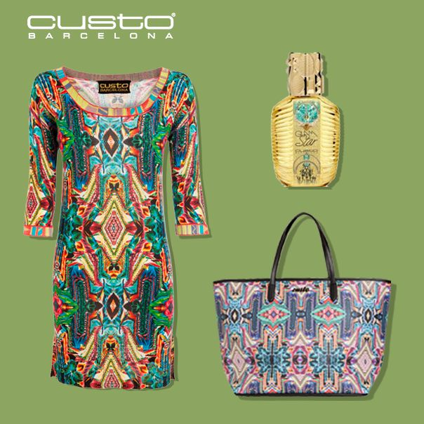 ¡Porque preferimos vivir la vida a todo color! Consigue este look tribal > http://custo.com/  We prefer to live in color! Get this tribal look > http://custo.com/