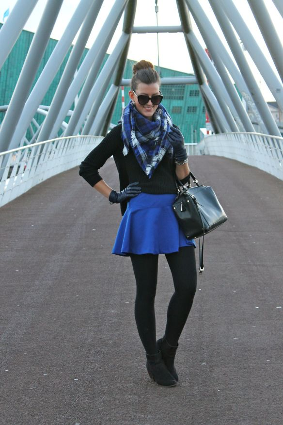 Cute, dressy winter outfit