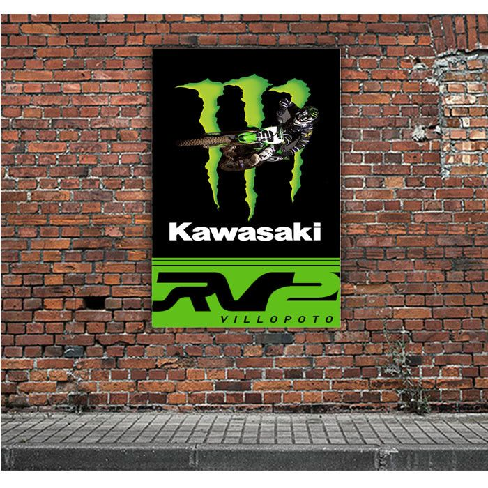 RYAN VILLOPOTO MONSTER THOR MOTOCROSS ARTWORK POSTERS