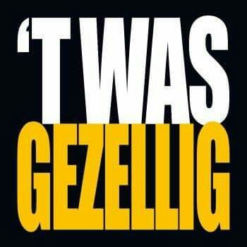 T was gezellig!